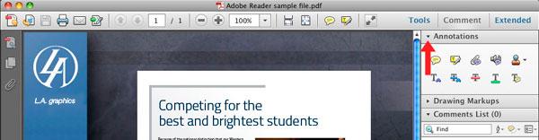 Using Adobe Reader | Tia Andrako | Red Planet Graphic Design